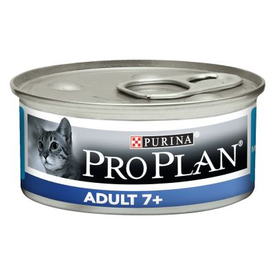 24 x 85 g Pro Plan Cat Adult 7+ Mousse