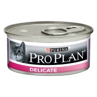 24 x 85 g Pro Plan Cat Delicate Mousse