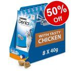 8 x 40g Purina Dentalife Cat Dental Snacks Chicken – 50% Off!*