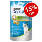 8 x 40g Purina Dentalife Cat Dental Snacks - 15% Off!*