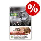 24 x 85 g Purina Pro Plan Nutrisavour pour chat à prix avantageux !