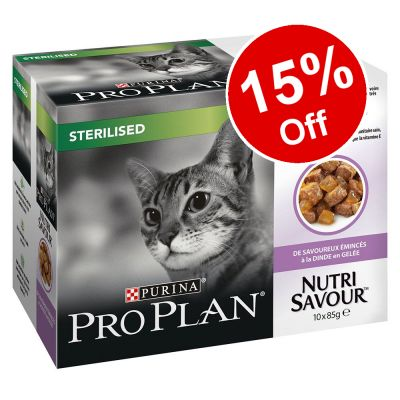 20 x 85g Purina Pro Plan Nutrisavour Wet Cat Food - 15% Off!*