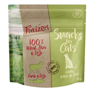 3 x 40g Purizon Grain-Free Cat Snacks - 2 + 1 Free!*