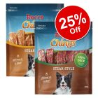 2 x 200g Rocco Chings Steak Style Mix Pack Dog Snacks - 25% Off!*