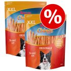 2 x 900g Rocco Chings Strips of Chicken Breast Dog Snacks - Special Price!*