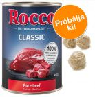 6 x 400 g Rocco Classic + 6 Barkoo rágólabda à 4,7 cm