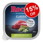 9 x 300g Rocco Classic & Menu Trays Wet Dog Food - 15% Off!*