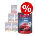 6 x 400g Rocco Classic Mixed Trial Pack Wet Dog Food - Special Price!*