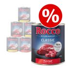 12 x 800g Rocco Classic Wet Dog Food Mixed Pack - Special Price!*