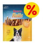 6 x 200 g Rocco Rolls pałeczki do żucia w super cenie!