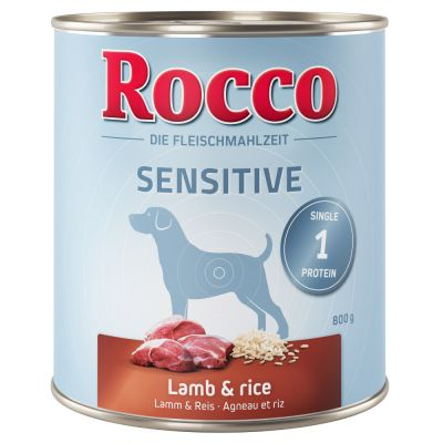24 x 800g Rocco Sensitive Wet Dog Food - 20 + 4 Free!*