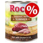 6 x 800g Rocco Summer Menu Wet Dog Food - Special Price!*