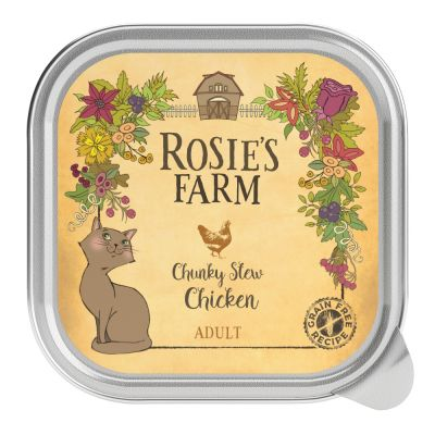 4 x 100g Rosie's Farm Adult Mixed Pack Wet Cat Food - 20% Off!*