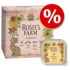 8 x 100g Rosie's Farm Adult Mixed Pack Wet Cat Food - Special Price!*