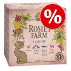 4 x 100 g Rosie's Farm Adult vegyes csomag rendkívüli engedménnyel!