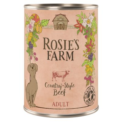 24 x 400g Rosie's Farm Wet Dog Food - €10 Off!*