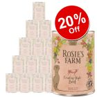 24 x 400g Rosie's Farm Wet Dog Food - 20% Off!*