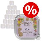 32 x 100 g Rosie's Farm zum Sonderpreis!