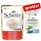 24 x 85 g Schesir Buste + 350 g Natural Selection Adult Sterilized gratis!