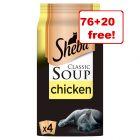 96 x 40g Sheba Classic Soups - 76 + 20 Free!*