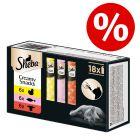 18 x 12 g Sheba Creamy Snacks Multipak voor een speciale prijs