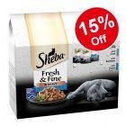15 x 50g Sheba Fresh Choice in Gravy Mini Pouches - 15% Off!*