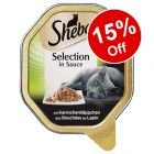 88 x 85g Sheba Trays Wet Cat Food - 15% Off!*