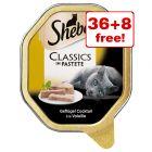 44 x 85g Sheba Wet Cat Food Trays - 36 + 8 Free!*