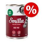 12 x 400 g Smilla hydinová konzerva za skvelú cenu!