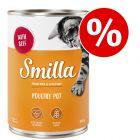 6 x 400 g Smilla kattefoder til særpris!