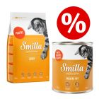 24 x 800g Smilla Tender Poultry Wet Food + 1kg Dry Food - Special Bundle!*