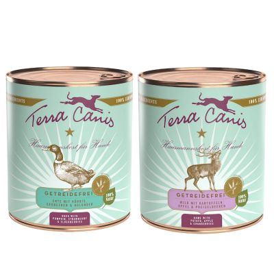 12 x 800 g Terra Canis WINTER MIX senza cereali