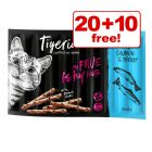 30 x 5g Tigeria Cat Sticks - 20 + 10 Free!*