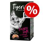 6 x 85 g Tigeria vådfoder til særpris!