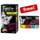 6 x 85g Tigeria Wet Cat Food + 10 x 5g Tigeria Cat Sticks Free!*