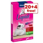 24 x 15g Vitakraft Cat Liquid Snacks - 20 + 4 Free!*