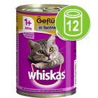 12 x 400 g Whiskas 1+ Conserve