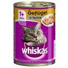 12 x 400 g Whiskas 1+ Dosen