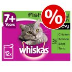 144 x 100g Whiskas Wet Cat Food Pouches - Special Price!*