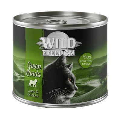 6 x 200g Wild Freedom Adult Wet Cat Food - 25% Off!*