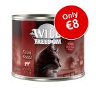 6 x 200g Wild Freedom Adult Wet Cat Food - Only €8!*