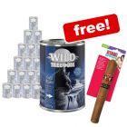 24 x 400g Wild Freedom Adult Wet Food + KONG Better Buzz Cat Cigar Free!*