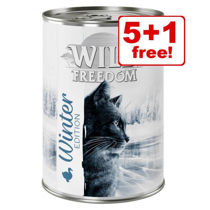 6 x 400g Wild Freedom Adult Winter Edition Chicken & Duck - 5 + 1 Free!*