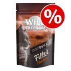 5 x 100g Wild Freedom Fillet Cat Snacks - Special Price!*