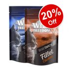 2 x 100g Wild Freedom Fillet Snacks Mixed Trial Pack - 20% Off!*