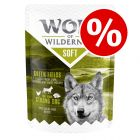 "6 x 300g Wolf of Wilderness Adult ""Soft"" Pouches - Special Price!*"