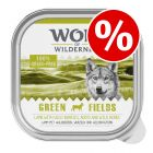 24 x 300g Wolf of Wilderness Adult Trays Wet Dog Food - Special Price!*
