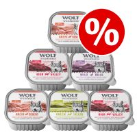 6 x 300g Wolf of Wilderness Wet Dog Food - Special Price!*