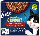 "20 x 85g + 2 x 40 g Latz ""Sensations Crunchy Crumbles"""