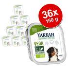 36 x 150 g Yarrah Bio alimento biologico Bocconcini Vegetariani
